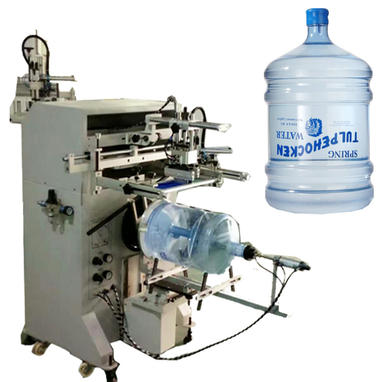 5 gallon water bucket screen printing machine
