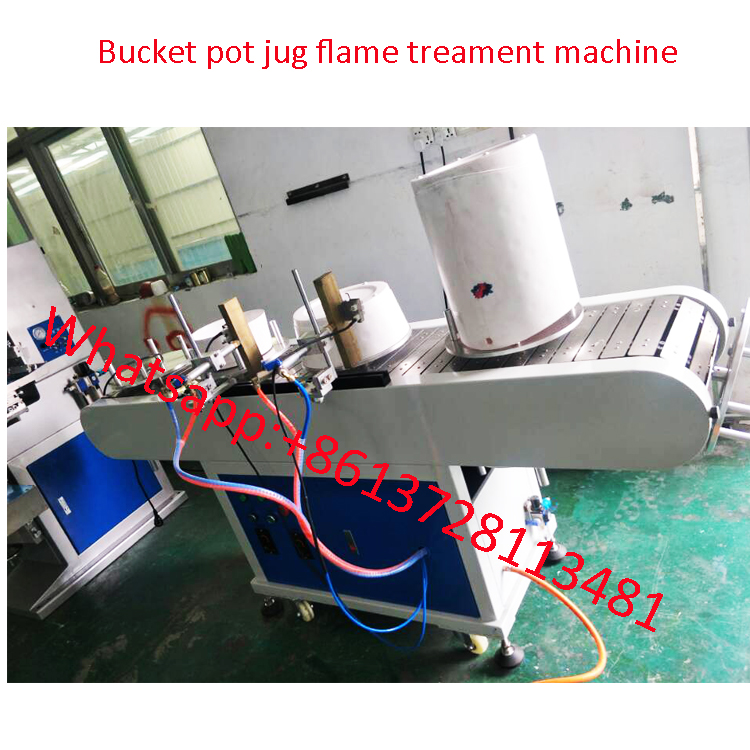 Bucket jug pot  flame treating machine LY-FT2